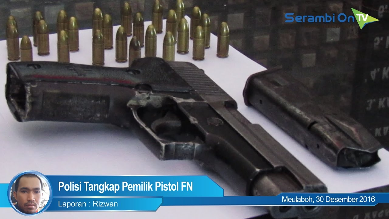 Polisi Tangkap Pemilik Pistol Fn Youtube