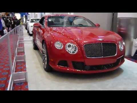 2013 Bentley Continental Gt Speed Sedan Exterior Dragon Red