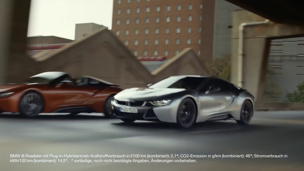 2018 Bmw I8 Coupe Roadster Commercial Youtube