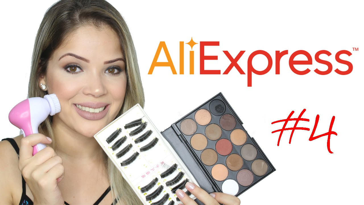 dd5a317cbdc Compras AliExpress  4 - Maquiagem e Decor - YouTube