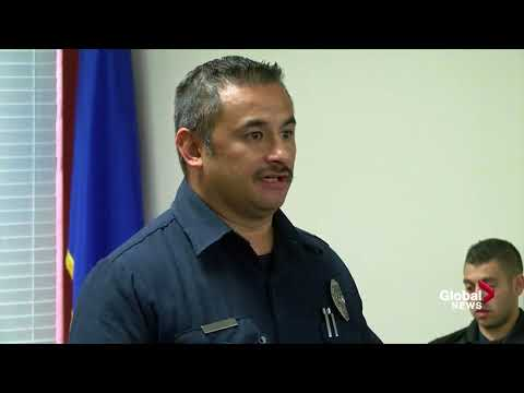 Las Vegas shooting: Firefighters share their heartbreaking stories