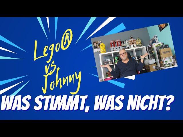 Lego® vs Qman®/Johnnys World - Was stimmt, was stimmt nicht? Muss denn das alles sein?
