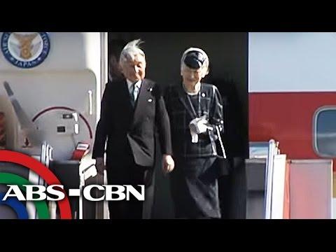 TV Patrol: Emperor at Empress ng Japan, nasa Pilipinas na