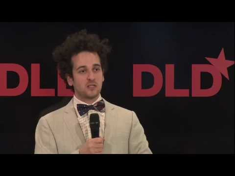 Ilan speaking at the DLD -Annotate the World conference 2013 alongside Genius co-founders Mahbod Moghadam and Tom Lehman