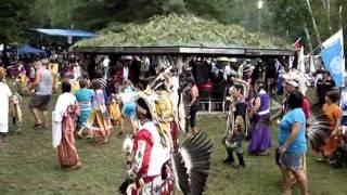 Канада, Онтарио, парад индейцев племени Алгонкин