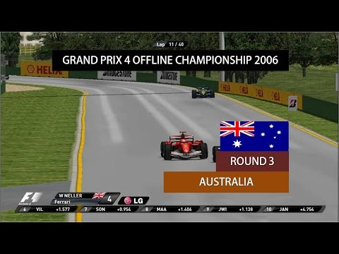 Grand Prix 4 OC 2006 | Round 3 | Australian Grand Prix Highlights