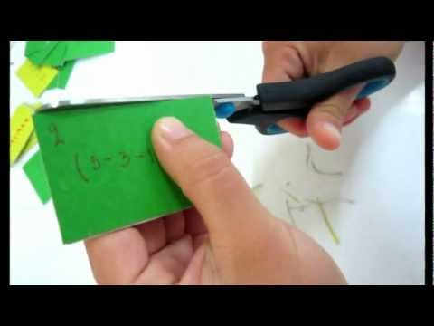 วิธีทำเกมส์คณิตศาสตร์ บันไดงูหรรษา