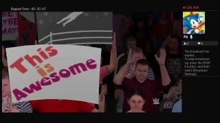 WWE 2K17 Daniel Bryan VS Sheamus Falls Count Anywhere Match At WWE Main Event