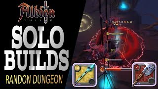 Albion Online | Two INSANE Speed clear builds for Solo Random Dungeons!!