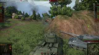 WoT Видео как правильно играть на танке СССР КВ-4