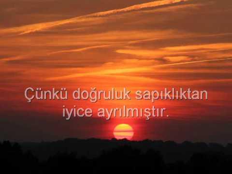 ayetel kürsi ve türkçe meali  müthiş bir kuran ziyafeti