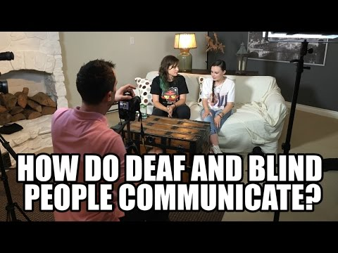 How Do Deaf And Blind People Communicate? ft. Molly Burke