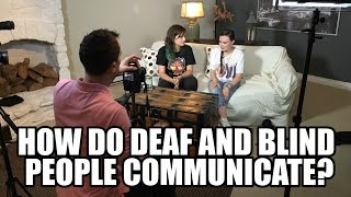 How Do Deaf And Blind People Communicate ft. Molly Burke