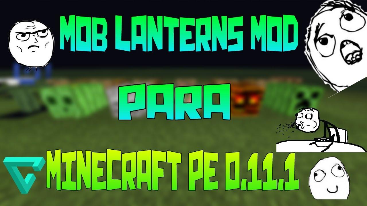how to make lanterns in minecraft pe