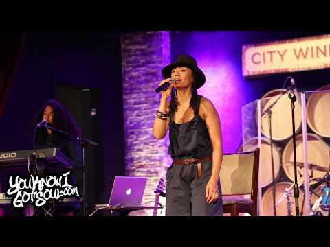 "Amel Larrieux Performing ""For Real"" Live at City Winery in NYC 8/6/15"