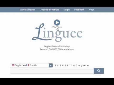 Free online dictionary Linguee.com