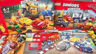 Тачки 3 Лего Молния Маквин Мультики Машинки Обзор Игрушек Видео для Детей