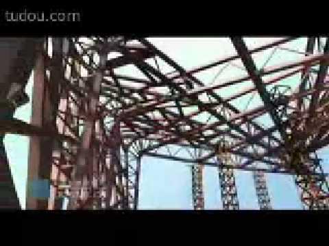 The process of Beijing 2008 Olympics Stadium