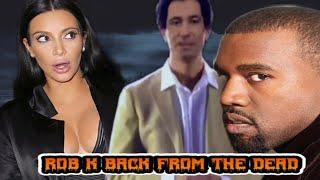 Kanye West SHOCKING Robert Kardashian hologram gift for Kim Kardashian 40th birthday😱 FREAKY!