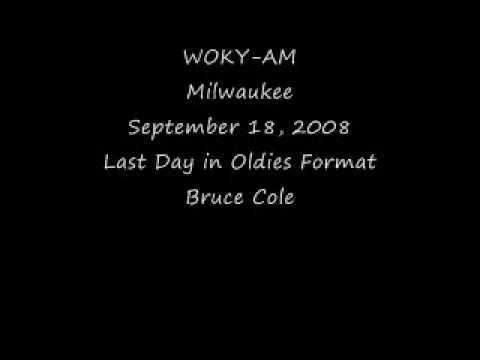 WOKY Milwaukee September 18, 2008 Bruce Cole