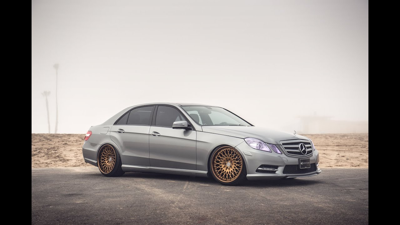 2012 Mercedes E350 On 20 Quot Avant Garde F440 Ag Wheels