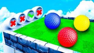 САМЫЙ ТРУДНЫЙ ВЫБОР! 100% НЕВОЗМОЖНО УГАДАТЬ ПРАВИЛЬНЫЙ ПУТЬ! СЛОЖНАЯ КАРТА В ГОЛЬФ ИТ (Golf It)