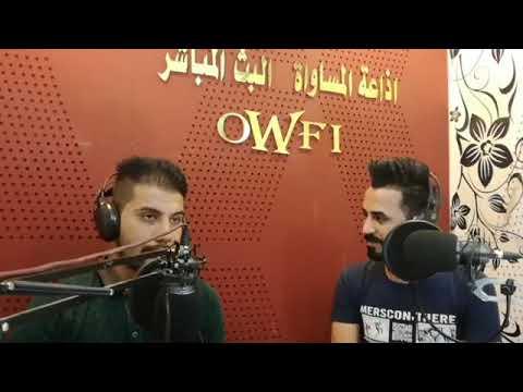 الشاعر علي عبد السادة مع الشاعر احمد زهير . برنامج محبس ورق