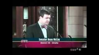 LB599 Veto Override Debate #6 4182012 Beau McCoy