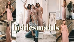 WEDDING SERIES | Bridesmaid Dresses + Meet the Girls!