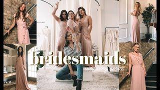 WEDDING SERIES | Bridesmaid Dresses + Meet the Girls!