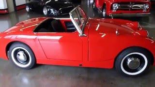 1959 Austin Healey Bugeye Sprite GT Auto Lounge