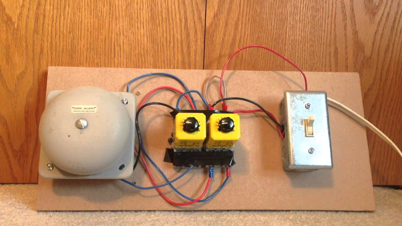 Potter And Brumfield Timing Relay Demonstration Youtube