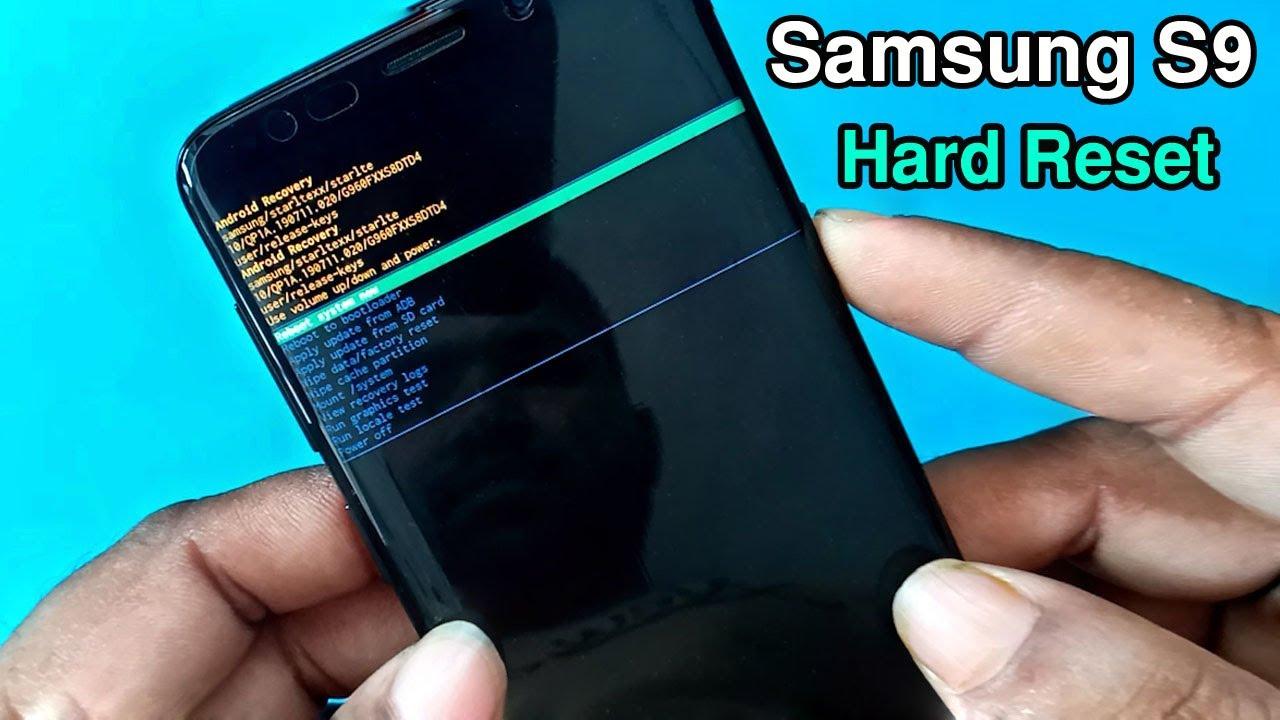 Samsung Galaxy S25 Hard Reset / Factory Reset  - YouTube