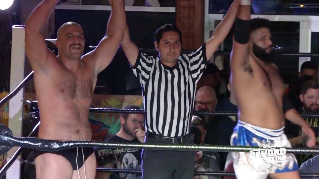 Final Minute of Chris Dickinson & Jaka v. Teddy Goodz & Devil's Reject   Beyond Wrestli