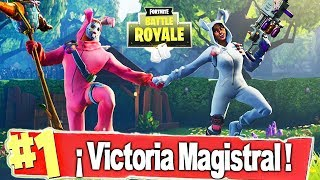 🔴 +250 VICTORIAS! EPIC SQUAD WITH THE NEW RABBIT SKIN! - FORTNITE Battle Royale
