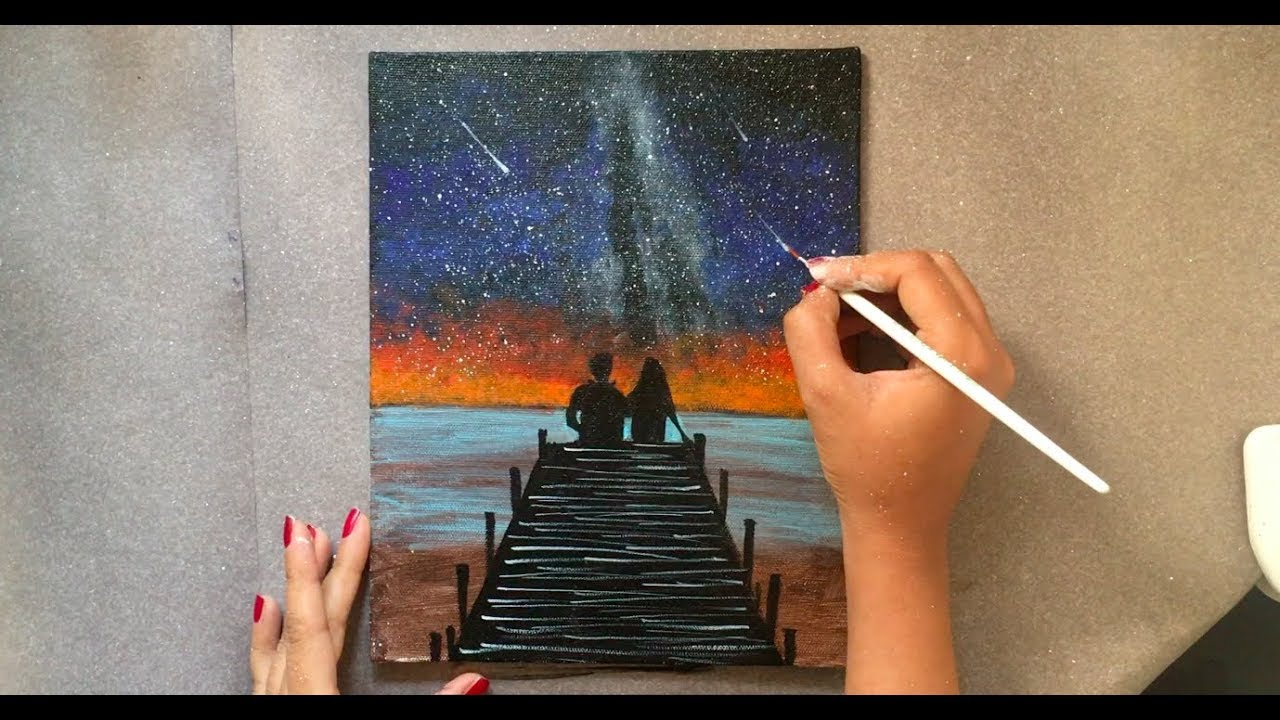 Avgust Iveta Painting Picture Canvas Painting Love