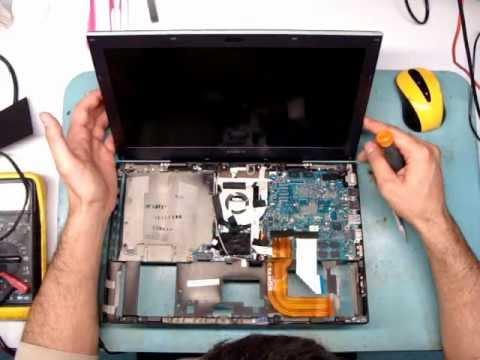 Разборка ноутбука Sony VAIO