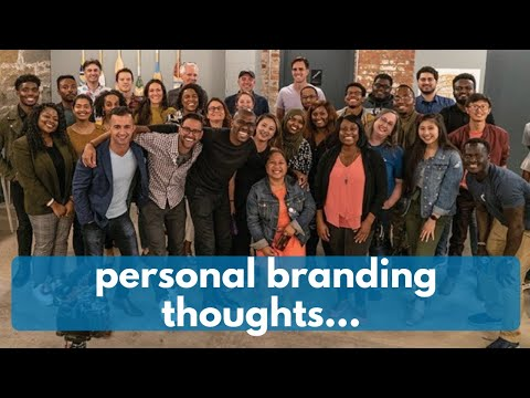 Personal Branding - Amazon Employee Thoughts
