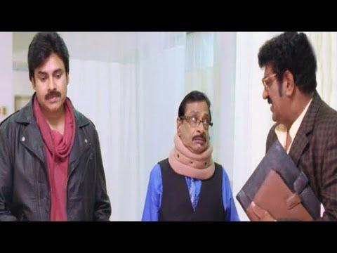 Attarintiki Daredi Comedy Scenes || Pawan Kalyan After Saving Shekar Life (Hospital) Scene
