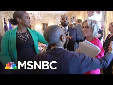This Is Not Taking 'Thank You' For An Answer. | Andrea Mitchell | MSNBC