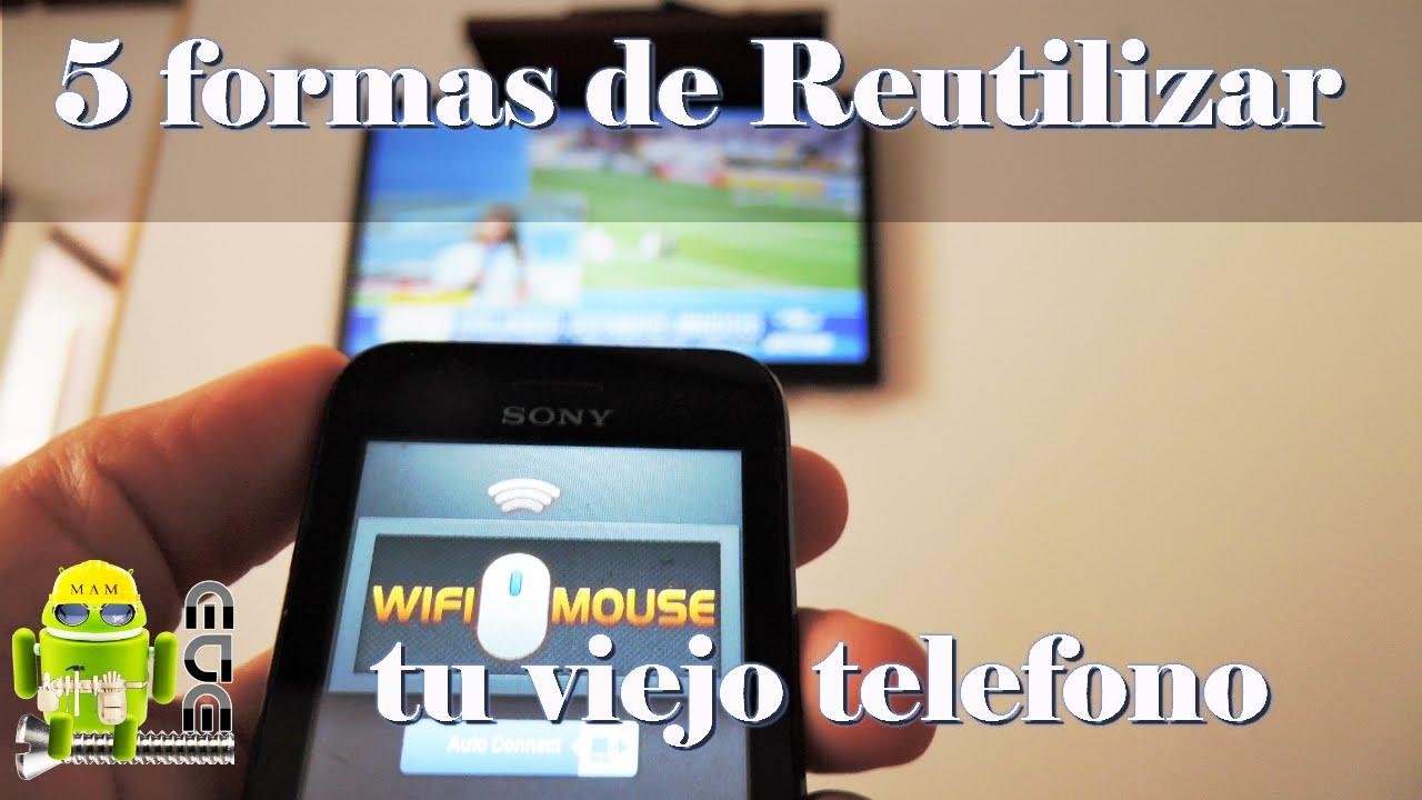 82071370eb0 5 Usos Que Le Puedes Dar A Tu Viejo Telefono Android - YouTube