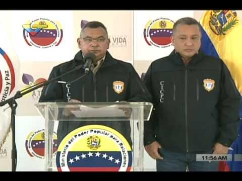 Reverol ofrece detalles del presunto asesino de de Paola Ramírez Gómez en San Cristóbal