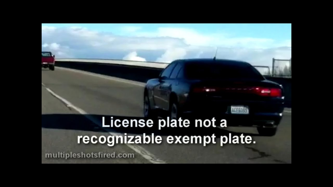 How To Get A Free Car From The Government >> Unmarked Dodge Charger makes traffic stop highway 2 - YouTube