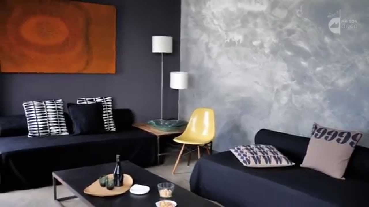 maison d co industrie enduit m tallis youtube. Black Bedroom Furniture Sets. Home Design Ideas