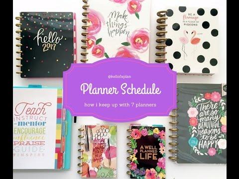 My Planner Schedule