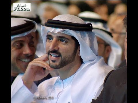 Sheikh Hamdan bin Mohammed (فزاع Fazza) World Government Summit (10 February, 2019)