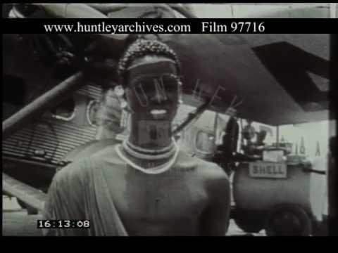 Flying Over Sudan, 1930s - Film 97716