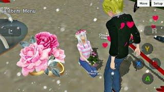 I proposed to Senpai 💕💍 Le propuse matrimonio a Senpai [School Girls Simulator]