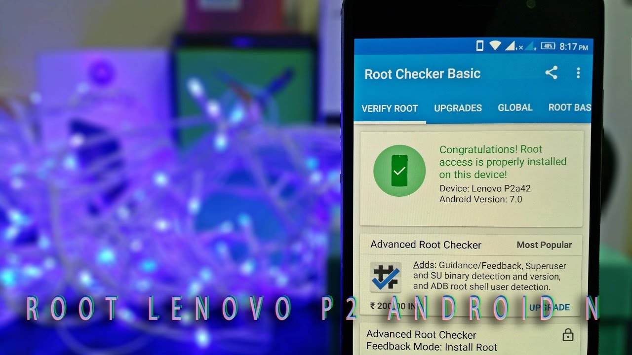 How to ROOT Lenovo P2 with Android Nougat | Lenovo P2 Root Tutorial