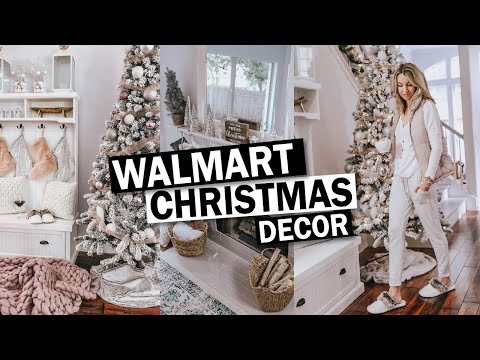 Decorate With Me Christmas 2019 | Walmart Christmas Decor